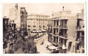 Cairo Egypt AFRICA OLD RP PHOTO POSTCARD