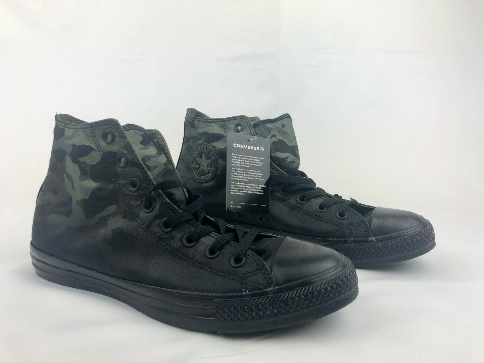Converse Chuck Taylor All Star High Top Camo Camouflage Multi sz 163241C