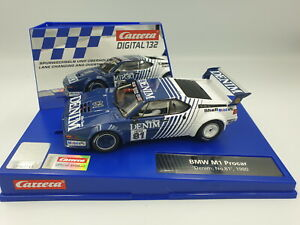 Carrera-Digital-132-BMW-M1-Procar-034-Denim-No-81-034-1980-30925
