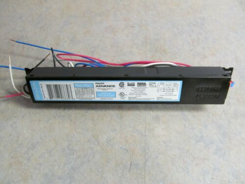 "2 48/"" 32 watt 1/"" diameter F32T8 Lamps /& others Advance Fluorescent Ballast for"