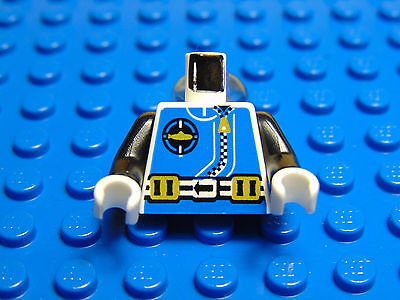LEGO-MINIFIGURES SERIES X 1 TORSO MECHANIC RACE JACKET WITH CHECKERED PATTERN