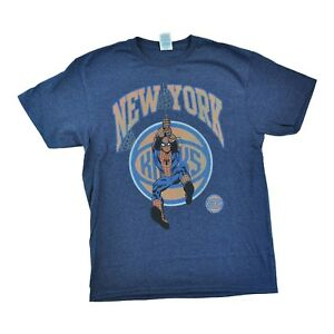 5e0b61208fd Image is loading New-York-Knicks-Spiderman-Webslinger-Men-039-s-T-