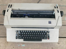 Vintage Ibm Selectric Ii Correcting Typewriter Beige Tan See Description