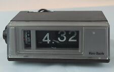 Vintage - Ken-Tech Flip Clock Radio - Alarm - Model T-405