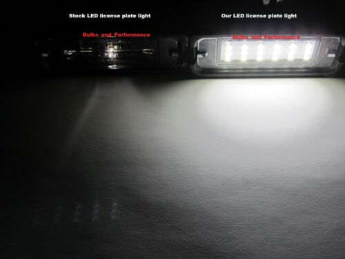 WHITE 6000K LED LICENSE PLATE LIGHTS LAMPS for 2015-2020 Ford Mustang BRIGHT!!