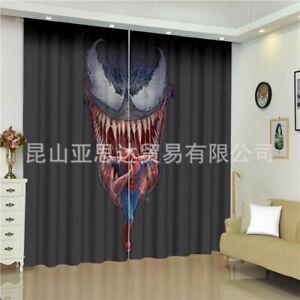 Atlanta Falcons Blackout Window Curtain Drapes for Bedroom Living Room 2 Panel