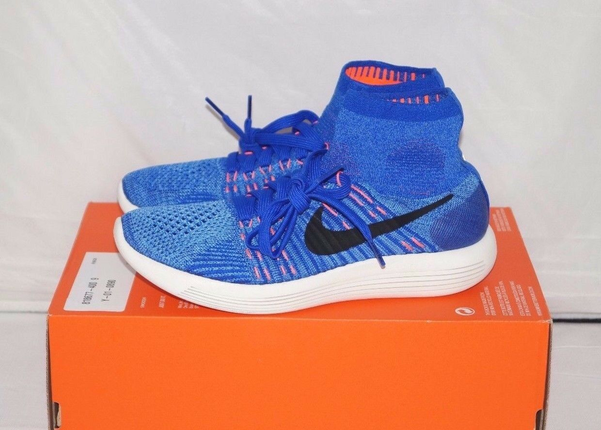 NWOB Authentic    175 NIKE LUNAREPIC FLYKNIT Running shoes Size 9 M 51fd9b