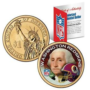 WASHINGTON-REDSKINS-NFL-US-Mint-PRESIDENTIAL-Dollar-Coin-with-Certificate
