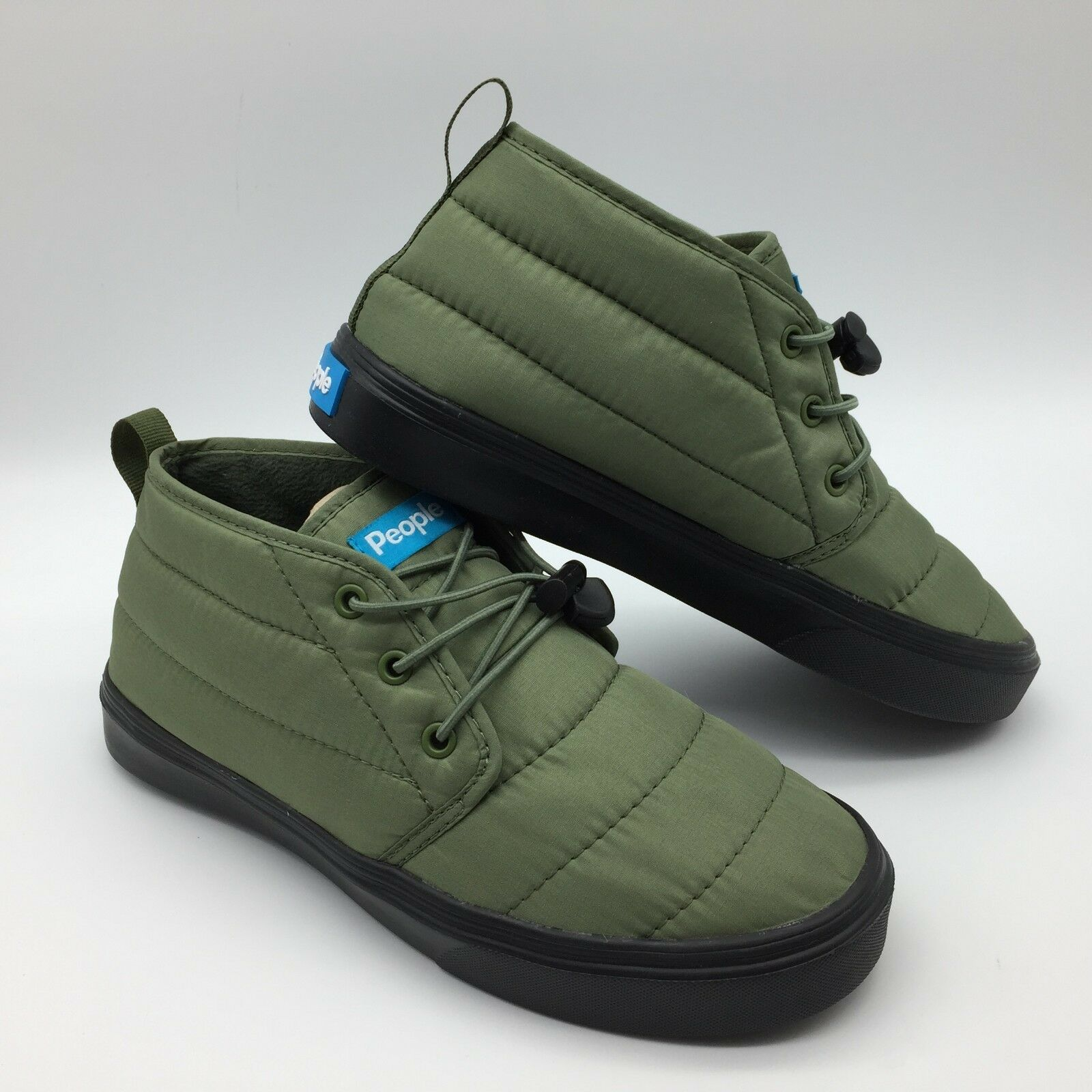 People Footwear Men's Women's shoes  The Cypress Expedition Green Really Black