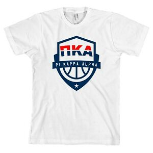 c05e496b Details about Pi Kappa Alpha USA Basketball Bella + Canvas T Shirt PIKE Tee  NEW WITH TAGS