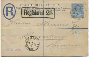 2447-1892-superb-QV-2-D-postal-stationery-registered-env-Huggins-RP16G-uprated
