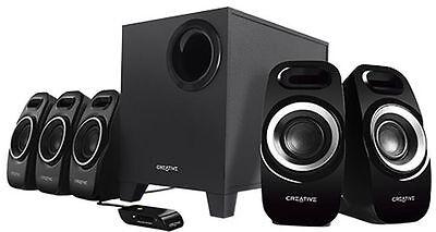 Creative Inspire T6300 5.1 Multimedia Speaker System (51MF4115AA002-UG)
