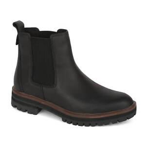 09f5b6a00103e2 Das Bild wird geladen Timberland-London-Square-Chelsea-Boots-schwarz-Damen- Stiefel-