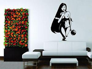 Wall Mural Vinyl Decal Decor Sticker Girl Woman Sexy Asian Hot