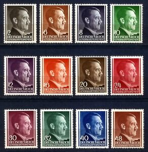 DR-Nazi-3rd-Reich-Rare-WWII-WW2-Stamp-GG-Hitler-Head-Swastika-Birthday-in-Poland