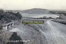 rp13358 - The Lovers Seat on Brading Down , Isle of Wight - photo 6x4