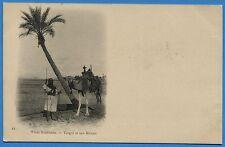 CPA ALGERIE -  Types Algériens - Targui et son Méhari