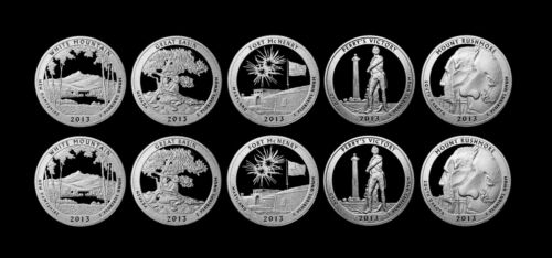 2013 S America the Beautiful National Parks Mint Silver /& Clad Proof Sets