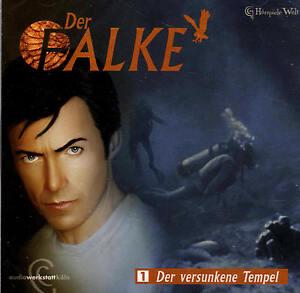 Der-Falke-01-Der-versunkene-Tempel-NEU-Hoerspiel-CD-B-WARE