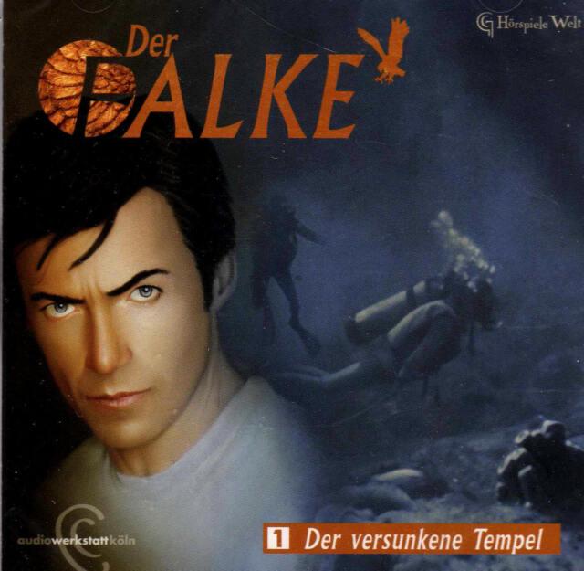 Der Falke 01 - Der versunkene Tempel   -NEU - Hörspiel CD / B-WARE