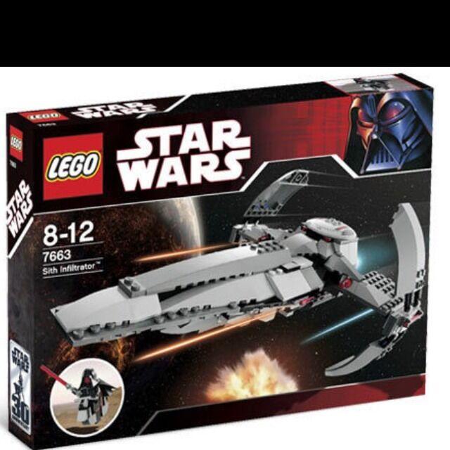 gli ultimi modelli DARTH MAUL SITH INFILTRATOR SITH SPEEDER SPEEDER SPEEDER estrella guerras LEGO 7663 MISB  acquista online