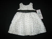 white Glimmer Sequin Easter Dress Girls 2t Spring Summer Boutique Clothes