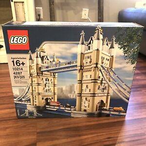 New 10214 Lego Creator Tower Bridge London Building Toy Sealed Box Retired 673419197960 Ebay