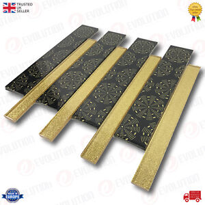 30x30-cm-INTERLOCKING-GLASS-WALL-TILE-PRINTED-BLACK-WITH-GOLD-GLITTER-DETAILS
