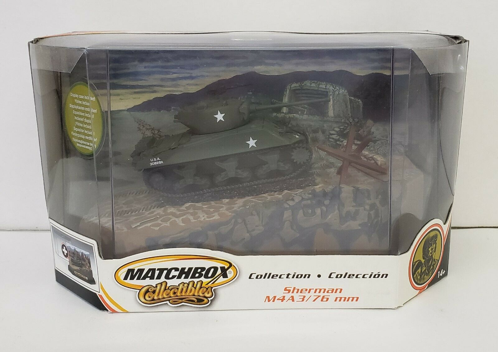 SHERMAN M4A3 M4A3 M4A3   76 FOREST ROAD Germany WWII Alied Forces Dark Camo Version LrgBox 6a9497