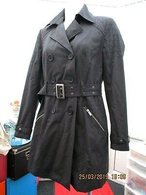 """""""nuovo Look"""" Donna Nero Cappotto/giacca Taglia 12- Rinfresco"""