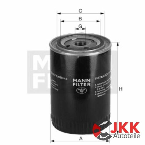 1455 1455A 856 856XL C-Series 1055 1056 MANN Ölfilter INTERNATIONAL Harv