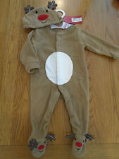 NWT baby girl/boy Christmas reindeer fancy dress up outfit.M&S.1 month.9lb 14oz