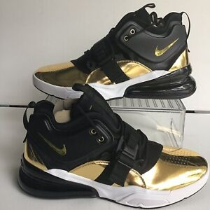 Details about Nike Air Force 270 CT16 QS Think 16 Gold Standard Black Gold Mns.12 (AT5752 700)