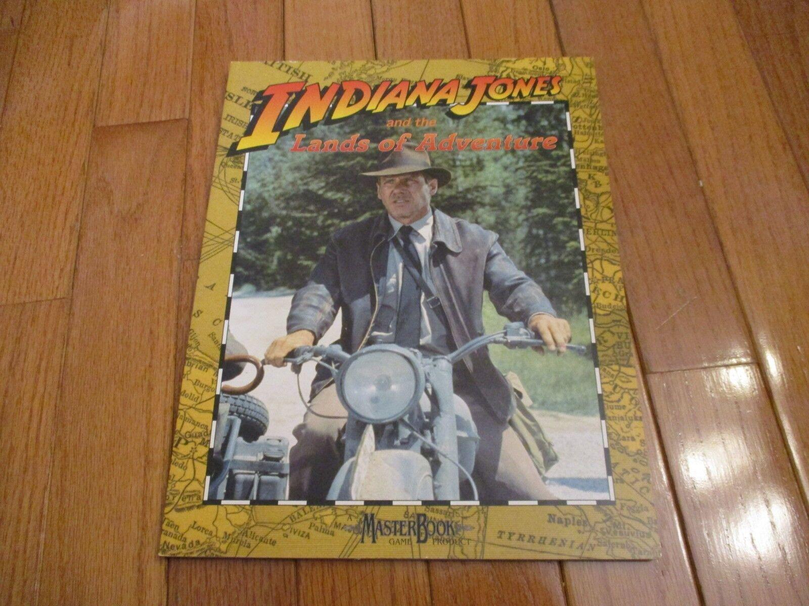 Indiana Jones RPG Indiana Jones and the Lands of Adventure