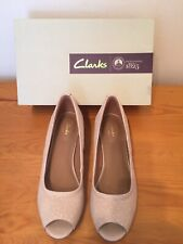 357b515aca53 item 5 New Clarks Vendra Daisy Womens Nude Nubuck Leather Wedge Shoes 5 1 2  39 Wide Fit -New Clarks Vendra Daisy Womens Nude Nubuck Leather Wedge Shoes  5 ...