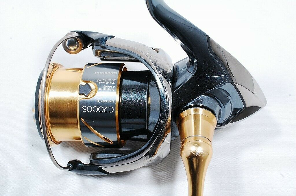 2014 2014 2014 Shimano Stella C2000HGS Spinning Reel A-RB Middle 9b4e8f