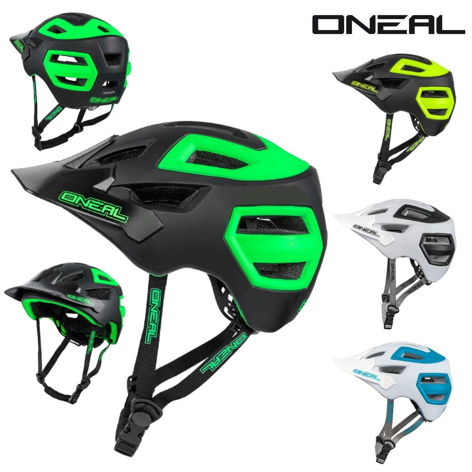 Casco de Enduro ONeal Pike todo trail FR MTB BMX en la bicicleta BTT todo EPS