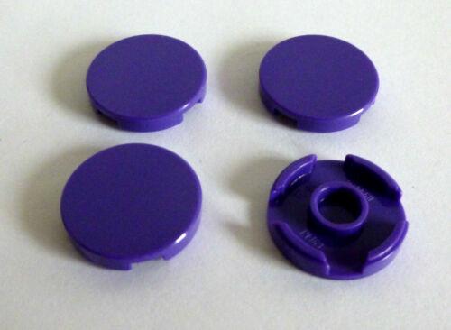 4 x LEGO® 14769 Systemstein Fliesen rund in 2x2 Farbe lila Neuware