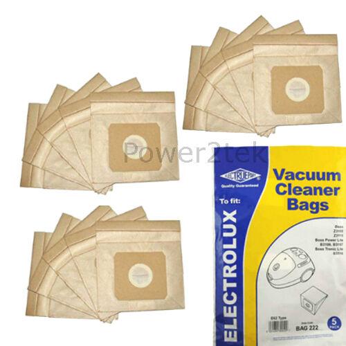 U62 Vacuum Bags for Proline VC300 VC400 VC400C Hoover NEW 15 x E62