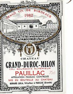 Chateau grand-duroc-milon