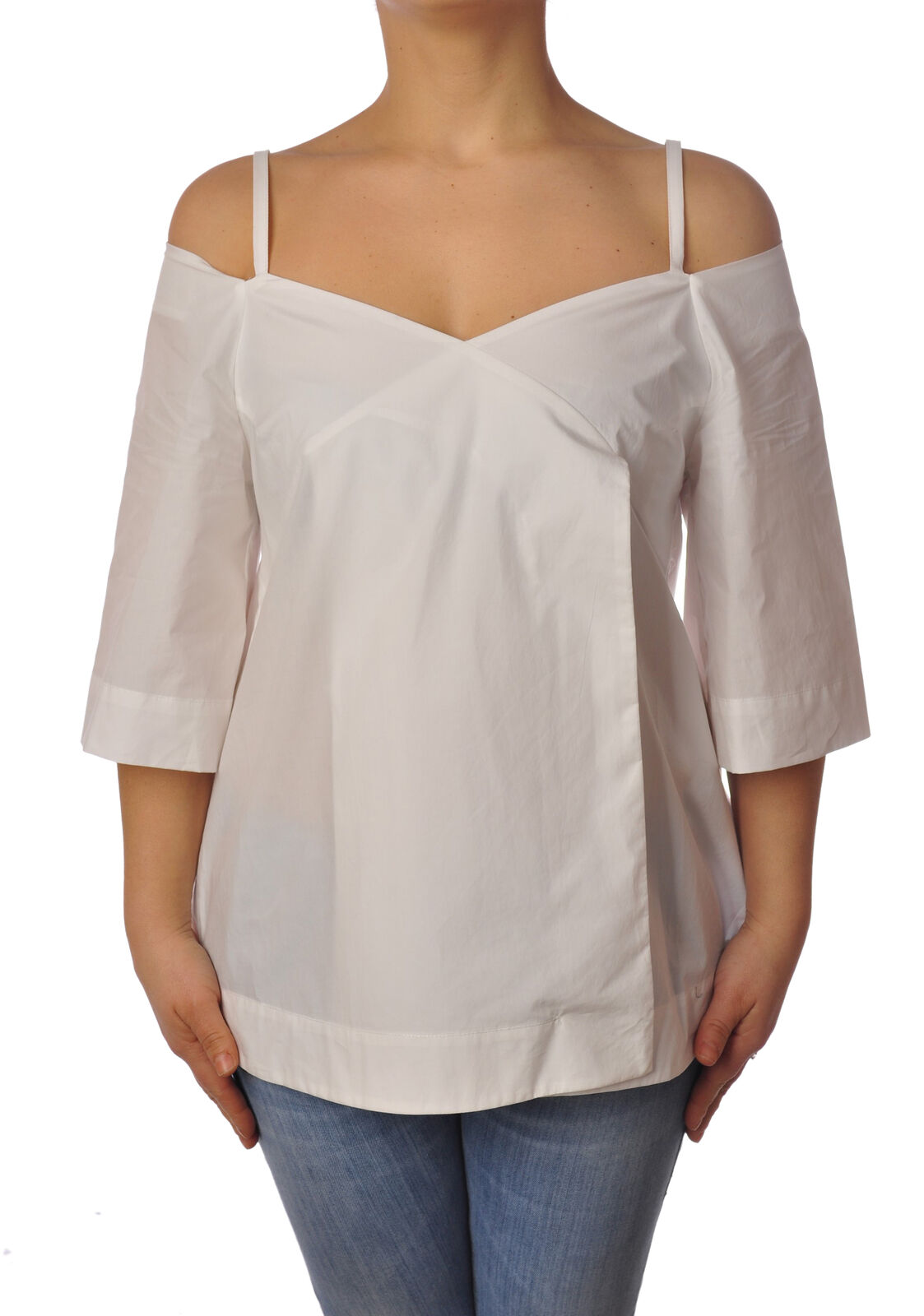 Ottod'ame - Shirts-Blouses - Woman - Weiß - 4958321G184858