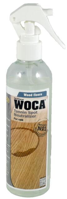 (1 L/66,00 €) Woca Gerbsäureflecken Spray Holz Fleckenspray Entferner 0,25 Liter