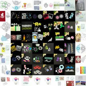 Stanzschablone Kranz Schuhe Hochzeit Weihnachten Geburtstag DIY Karte Album ED