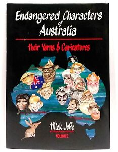 NEW-OLD-STOCK-Endangered-Characters-of-Australia-by-Mick-Joffe-Hard-Cover