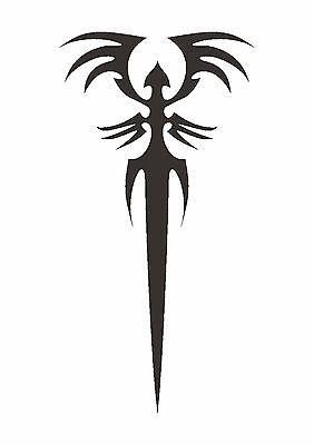 Tattoo Inspired By Beetle Head Stencil 350 micron Mylar not thin stuff #TaT0063