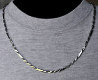 One Day Ship 18-36 High Polished Men's Womens Stainless Steel Necklace Chain