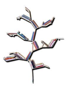 Libreria albero mensole parete design moderno salotto for Arredamento mensole a parete