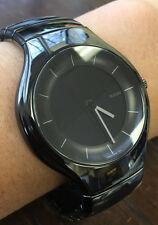 Mens Rado True R27867152 Black Ceramic Multifunction Analog/Digital Quartz Watch