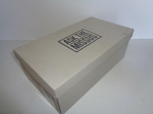 Ask the missus pour homme en daim bleu marine Bureau Cuir Formelle Chaussures New UK Tailles 9 10 11
