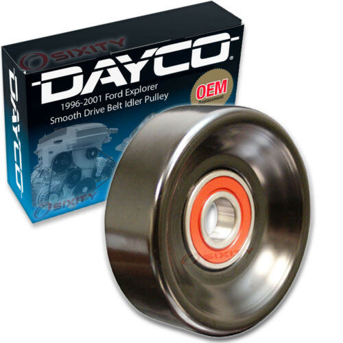Dayco Smooth Drive Belt Idler Pulley for 1996-2001 Ford Explorer 5.0L V8 to